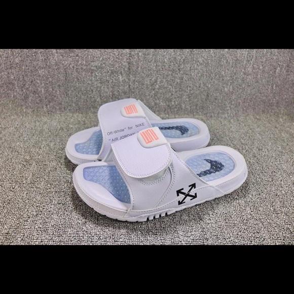 18f8b44c480 Shoes | Jordan 12 Off White Slides | Poshmark
